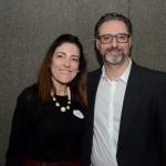 Gabriella Cavalheiro, da Universal, e Mauricio Alexandre, da RCA