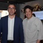 Gustavo Bandeira, do Grupo YSA, e Diego Rydz, da Optur