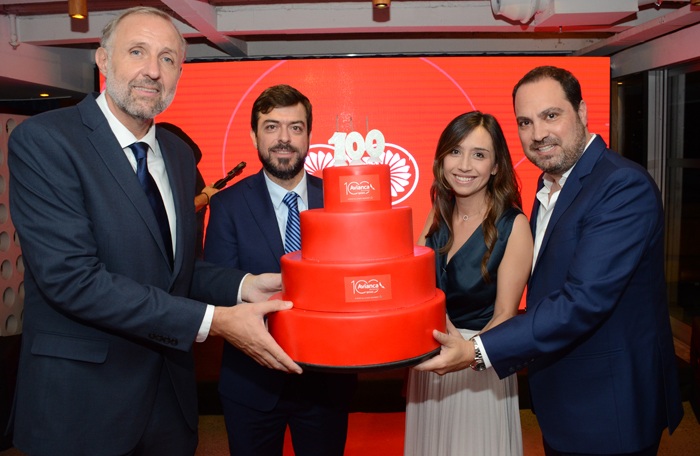 Gustavo Esusy, Renato Covelo, Carolina Avella Angel, Nissim Jabiles, da Avianca