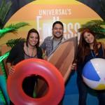 Jessica Martins, Alan Assis, e Letícia Oliveira, da Abreu