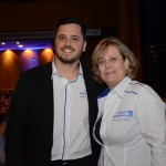 João Chagas e Cristiane Cortizo, da Copa Airlines