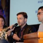 Joice de Souza, da Magic Blue Turismo, Deivide Dalto, da Flytour Viagens Shopping ABC, e Waldir Souza, da Diversa Turismo