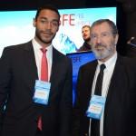 Juliano Braga, do M&E, e Torquato Jardim, vice-presidente Executivo da InvestSP