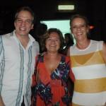 Leandro Cola, da Seleto Brazil, com Regina Meirelles e Anna Nagy, da Be Brazil