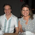 Leandro Cola, da Seleto Brazil, e Letícia Feques, da BBooking