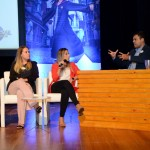 Marcela Nogueira, Luiza Belice e Renato Gonçalves, da Universal