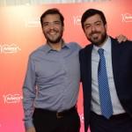 Marcelo Bento, da Azul, e Renato Covelo, da Avianca