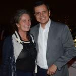 Mari Masgrau, do M&E, e Carlos Barbosa, do Turismo de Aruba