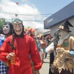 Mascarados no Carnaval de Bezerros