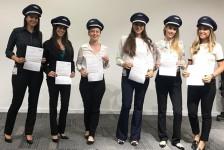 Latam contrata seis novas copilotas para voos nacionais e internacionais