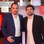 Nissim Jabiles, da Avianca, com Marcelo Neder Gatti, da Aviesp