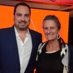 Nissim Jabiles, da Avianca, e Mari Masgrau, do M&E