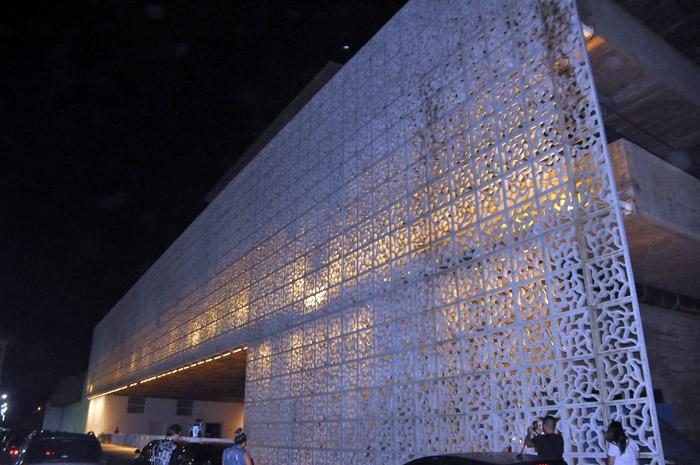 O Museu Cais do Sertão, onde fica o Rooftop, possui o segundo maior vão livre do País