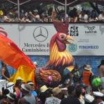 O camarote possui visão privilegiada dos desfiles