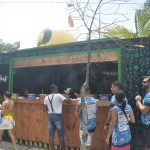 O open food conta com foodtrucks de hamburguer, pastel, sushi, sorvete, salgados, comidas típicas eetc