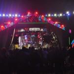 O palco do Marco Zero