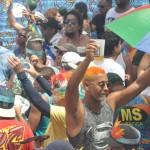 Os foliões lotaram as ruas de Recife durante os blocos