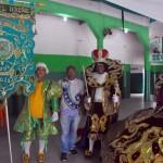 Os participantes fizeram visita a agremiações carnavalescas
