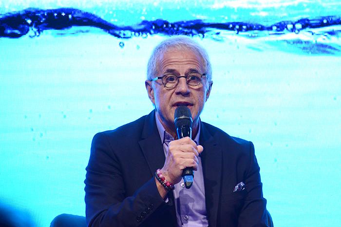 Otavio Neto, CEO do Grupo Radar, durante a abertura do 15º ESFE