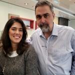 Paola Karam e Luiz Zaroni