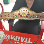 Participantes puderam confeccionar seus próprios adereços de Carnaval