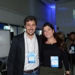 Philipe Campello, do Rio CVB, e Mariana Chaló, da Hoffman
