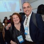 Rebecca Meadows, da BTD Web, e Enzo Avezum, da Itour