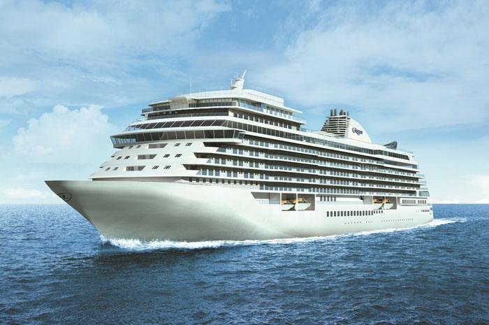 Regent Seven Seas Cruises entrega o novo Seven Seas Splendor, na Itália