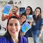 Renata Sales Meyer da Oasis e Fernanda  Sartori,executiva de Vendas da Trend, visitam a Agência Durigan, em Limeira