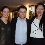 Renata Santion, da Viajanet, André Khouri, da CNT, e Cristeny Benjamin, da Tour House