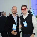 Rodrigo Silva, da Janos, com Charles Pedrosa, da Além dos Olhos