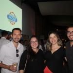 Rodrigo Vaz, Juliana Marches, Jessica Moraes e Douglas Santos, da Decolar