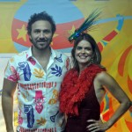Secretário de Turismo e Lazer de Pernambuco Rodrigo Novaes e Ana Paula Vilaça Secretária de Turismo Esporte e Lazer de Recife