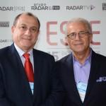 Toni Sando, do Visite São Paulo, e Otavio Neto, do Grupo Radar