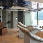 Uma das salas do spa