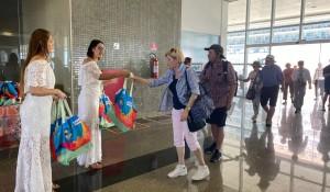 Cerca de 2 mil cruzeiristas chegam ao Ceará nesta sexta-feira (7)