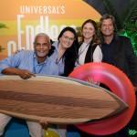 Williams Silva, da Azul Viagens, Aline de Aveiro, da Lica Tour, Edi Merighi, da Surya Viagens, e Ernesto Rosa, da Champions Tour