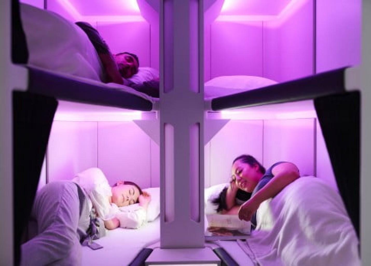 Air New Zealand revela protótipo de 'cabine de beliches' para Econômica; vídeo
