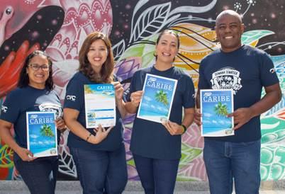 Andréia Pereira, Débora Keszek, Cristiane Jayme e Esequiel Santos, da Trend