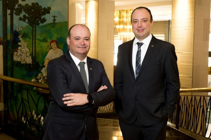 Jefferson Vidal assume como gerente geral do Bourbon Curitiba Convention Hotel, e Diego Alcain é o novo gerente geral Bourbon Santos Convention Hotel