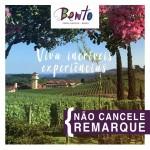 A cidade de Bento Gonçalves também apela para as remarcações
