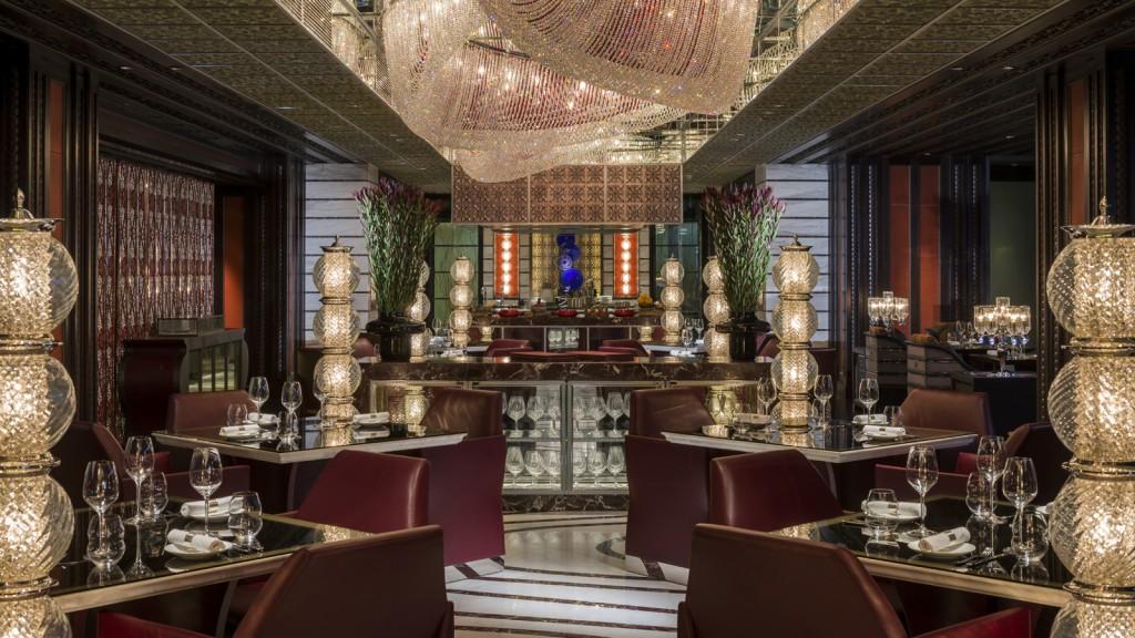 Restaurante italiano Mio, no Four Seasons Hotel Beijing