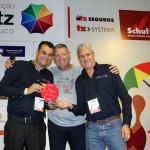 Clayton e Miguel da Europamundo receberam o prêmio de participação da Convenção 2020