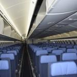 Poltronas da Classe Econômica da Air Europa