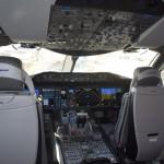 Cabine do novo Boeing 787-9