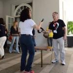 Participantes tiveram que tocar o sino para responder