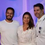 Dalbert Arechavaleta, da Gol Travel, u Honegger, da Embarque Turismo, e Marcus Vinícius Carneiro, da Step Away