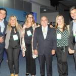 Dante Campos, da Braztoa, Margareth Carvalho, Marisa Cardoso, Julio Cezar e Jacqueline Maia, do Sebrae-RJ, e Phillipe Campelo, do RioCVB