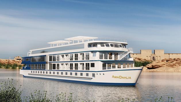 Dahlia é o novo navio da AmaWaterways