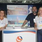 Dyrana Guimarães, Sergio Vianna e Fátima Monteiro, da Lusanova